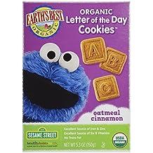 Carta Orgánica de las galletas del día, harina de avena Canela - Los mejores de la Tierra