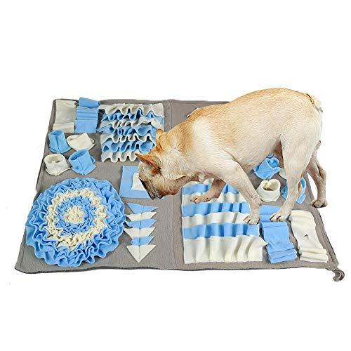 happygirr Dog Snuffle Mat für kleine große Hunde Katzen, Pet Nose Work Blanket - für Fußböden Spielzeug Puzzle, Hund Sniffing Training Pad Activity Fun Spielmatte, ideal für Stress Release
