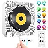 Tragbarer DVD-/ CD-Player, an der Wand montierbarer Bluetooth-CD-DVD-Player, integrierter HiFi-Lautsprecher, Musik-Player mit Fernbedienung, HDMI für die TV-Verbindung, FM-Radio-USB-Player für Kinder