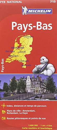 Carte NATIONAL Pays-Bas par Collectif Michelin