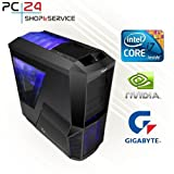 GAMING PC | PC24 GAMER PC | INTEL i7-6700K @4x4,20GHz Skylake | nVidia GF GTX 1080 mit 8192MB GDDR5X RAM DX12 | 16GB...