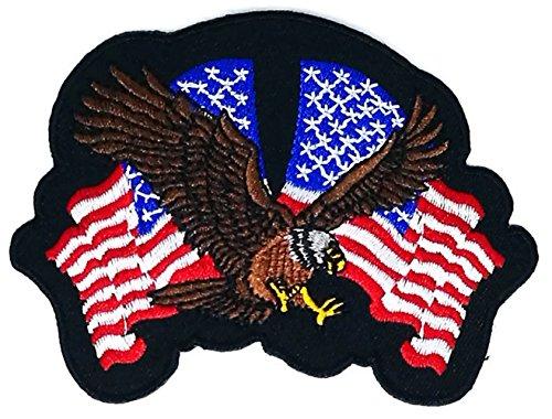 toon Kinder Hippie Retro Biker Jacket T-shirt Vest Patch Sew Iron on gesticktes Badge Custom (Usa Kostüm Diy)
