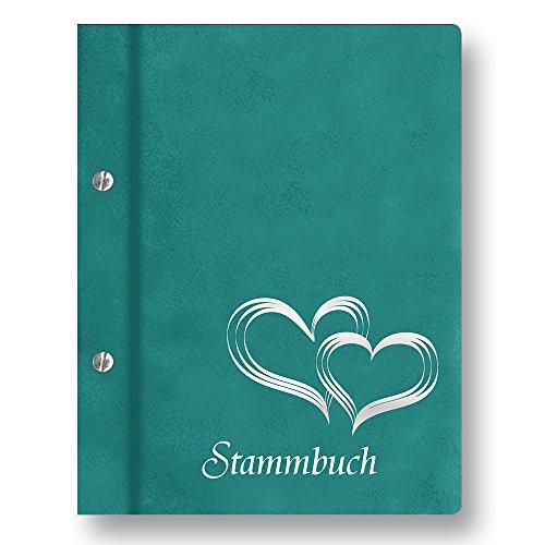(Stammbuch der Familie 'Glamour' Familienbuch Familienstammbuch Stammbaum Stammbücher - A4 türkis)