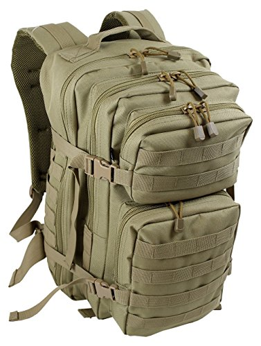 EXTREM Großer Rucksack 50 Liter Backpack Outdoor Robuster Multifunktions Military Rucksack für Backpacker   Camel (4076)