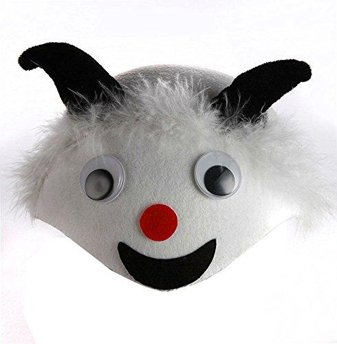 BRZM Das ideale Geschenk Kindertag Performance Bekleidung Zubehör Cartoon Tier Hut Lamm Schaf Party Cap Dress up Süßer Hut (Süße Lamm Kostüm)