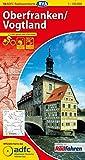 ADFC-Radtourenkarte 18 Oberfranken/Vogtland 1:150.000, reiß- und wetterfest, GPS-Tracks Download und Online-Begleitheft (ADFC-Radtourenkarte 1:150000) -