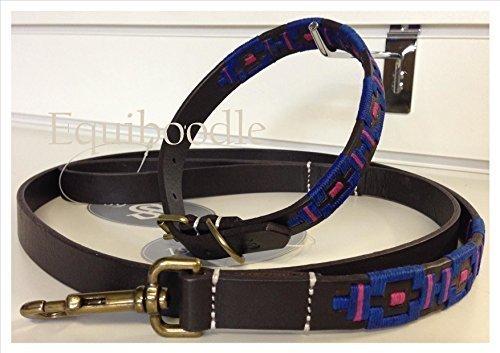 Criollo Hund Halsband-mit/ohne Passende Leine-wählen Sie Größe und Farbe ROY/PNK xl