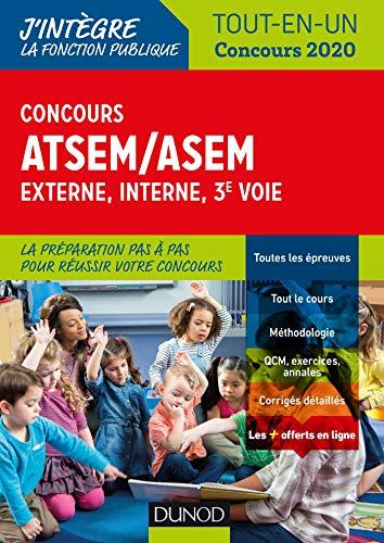 Concours ATSEM/ASEM - Externe, interne, 3e voie - Tout-en-un - Concours 2020 par Corinne Pelletier