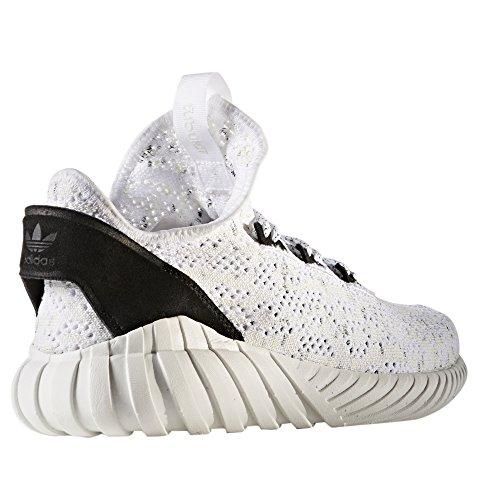 Sneaker PrimeKnit Herren Tubular adidas White Core BY3558 Black BY3559 Sock Doom OxttFY