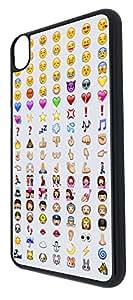 HTC Desire 820 Cool Smiley Faces emoji Funky Funny Design Fashion Trend Coque arriere Coque Case