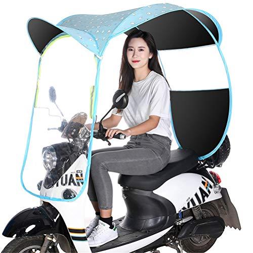 GFYWZZ Copertura Parasole Universale del Motociclo Elettrico, Motorino Pioggia Copertura Impermeabile, Batteria Auto Copertura Dell'ombrello Canopy,D