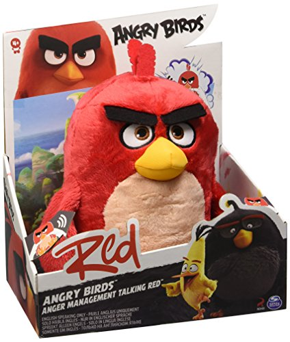 Angry Birds 6027842 - Plush mit Sound, 12 Zoll