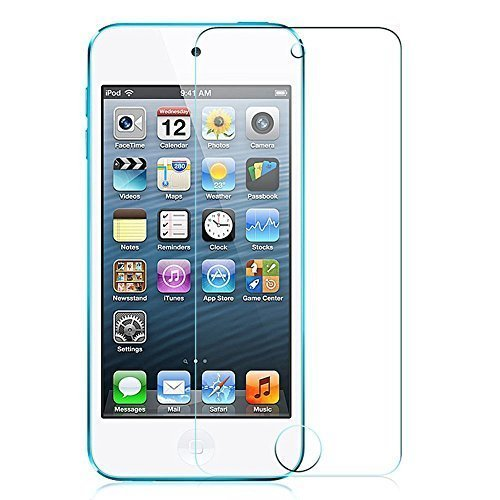 Plus Tempered Glass for iPod Touch 5th Gen with Microfiber Dry Cloth