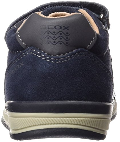 Geox B Rishon B, Chaussures Marche Bébé Garçon Blau (NAVY/DARK GREYC0718)
