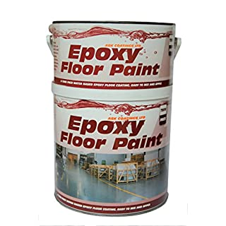 Epoxy Resin Floor Paint by Ask Coatings. For Garage, Industrial and Domestic. 2.5L (Safety Yellow)