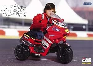 Moto 3 roues DUCATI Valentino Rossi, 6 Volts