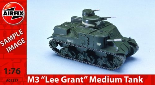 Airfix A01317 M3 Lee Grant Tank 1:76 Scale Series 1 Plastic Model Kit by Airfix