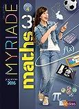 Myriade 3e - Manuel de l'élève - Grand format - Nouveau programme 2016