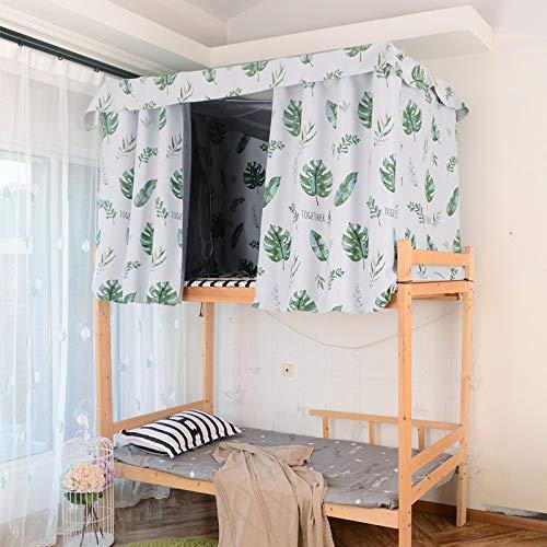 BULUSIJNSK College-Student Bett Vorhang Schattierung Schlafsaal Ins Nordic Wind oberen und unteren Bett, Vorhang, Vorhang, Schlafzimmer Vorhang, Schlafzimmer Vorhang, EIN Stück von 1,5 * 2m -