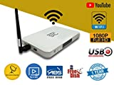 Best Hd Satellite Receivers - STC Wifi- H-500 Free To Air -HD- Set Review