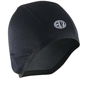 EDZ All Climate Base Layer Helmet Liner/Skull Cap - Unisex - Black