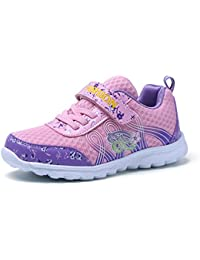 Dannto kindersportschuhe Mädchen Jungen Sneaker Breathable Mesh Magic Aufkleber Outdoor Walking Anti-Rutsch-Casual Schuhe