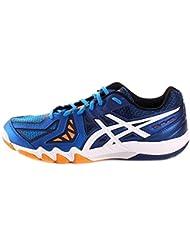 ASICS Gel-blade 5, Chaussures de Squash homme - Bleu (electric Blue/white/navy 3901) - 39
