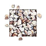 25 kg Marmorsplitt Ardenner Rouge Royal Ziersplitt Deko Marmor Dekoration Splitt Zierkies Körnung 16/22 mm