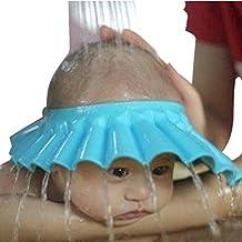 hodgea Safe Shampoo Dusche Baden Schutz Soft Cap Mütze für Baby, Kinder, Halten Das Wasser aus Ihre Augen & amp; Gesicht (blau)