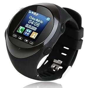 Montre connectée GPS, localisation GPS/GPRS, télephone, MP3/MP4, Connection Bluetooth Smartphone, menus en français, support SDcard 8G (non fournie)