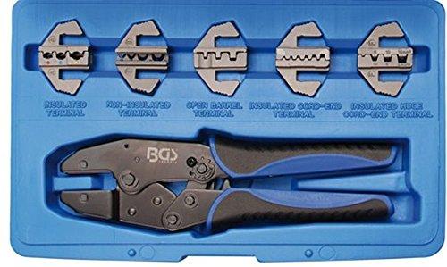 BGS 1410 Crimpzangensatz mit 5 Paar Backen