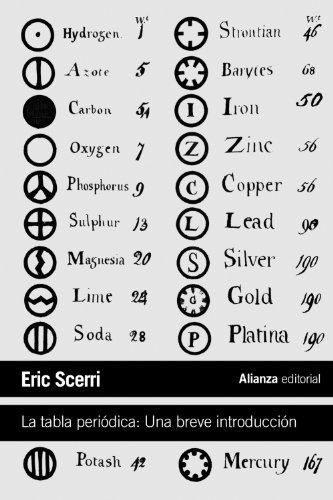 La tabla periódica: Una breve introducción (El Libro De Bolsillo - Ciencias) por Eric Scerri