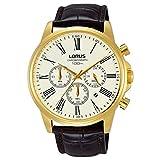 Lorus Reloj Cronógrafo para Hombre de Cuarzo con Correa en Cuero RT396FX9