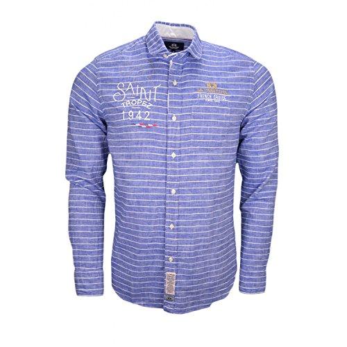 La Martina -  Camicia Casual  - Uomo Blu