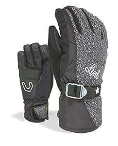 Level matrix w gants pour femme 7,5 Noir - Dark