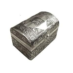 sculpt la main bijoux antiques aluminium petit coffre en bois mdf box cuisine. Black Bedroom Furniture Sets. Home Design Ideas