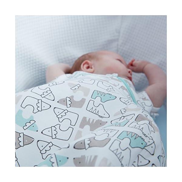 Tommee Tippee GRO Saco de dormir Grosnug, Cómodo, Leones y Tigres