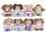 Ideapiu 2,Bambole Piccole in Stoffa Imbottita