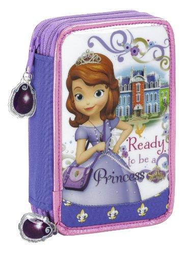 Princesa Sofía – Plumier Doble pequeño 34 Piezas (SAFTA 411416054)