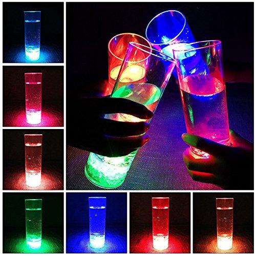 Miyare colorido luminoso LED parpadeante Bar Copa de cerveza alto brillo LED colorido luz taza