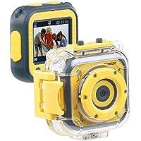 Somikon Kinderkamera: Kinder-HD-Actioncam mit Unterwasser-Gehäuse & 6 virtuellen Foto-Rahmen (Kinder Action Cam)