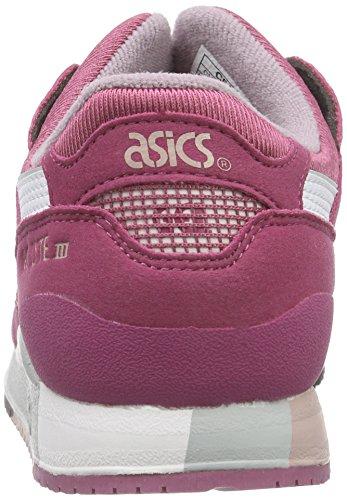 Asics Gel-Lyte Iii Gs, Baskets Basses Mixte Enfant Bleu (malaga/white 3201)