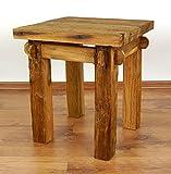 Java Beistelltisch aus recyceltem Teakholz | Couchtisch aus Massivholz | Nachttisch der Marke Asia Wohnstudio | Blumenpodest | Massivholztisch