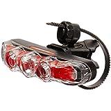 Cateye TL-Rapid 5 5 Led W/1 High Power Led Rapid Flash Red