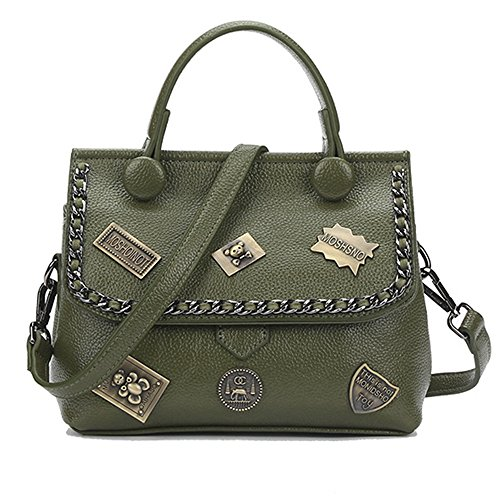 Anne, Borsa a spalla donna nero Black Green