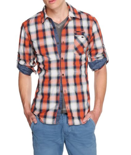 S.Oliver - Chemise - Homme Multicolore (25K0)