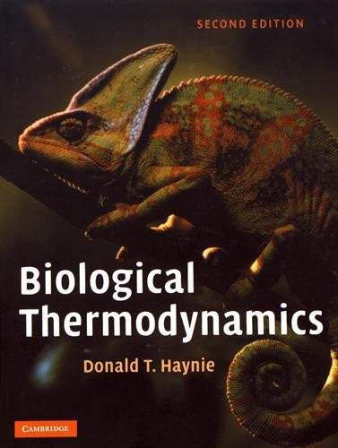 Pdf Download Biological Thermodynamics Read Online By Donald T