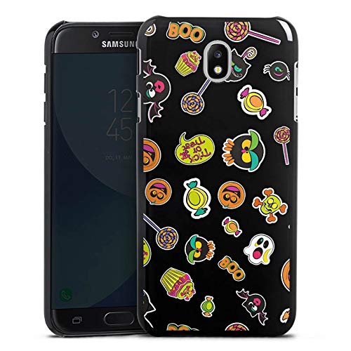DeinDesign Hülle kompatibel mit Samsung Galaxy J5 Duos 2017 Handyhülle Case Halloween Muster Trick or Treat