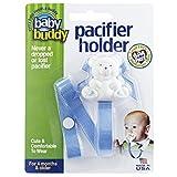 Baby Buddy Bear Pacifier Holder, BLUE