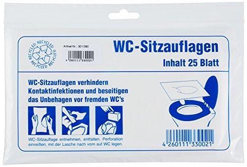 Brunner Campingbedarf WC-Brillenschutz 25 er-Pack, 26469